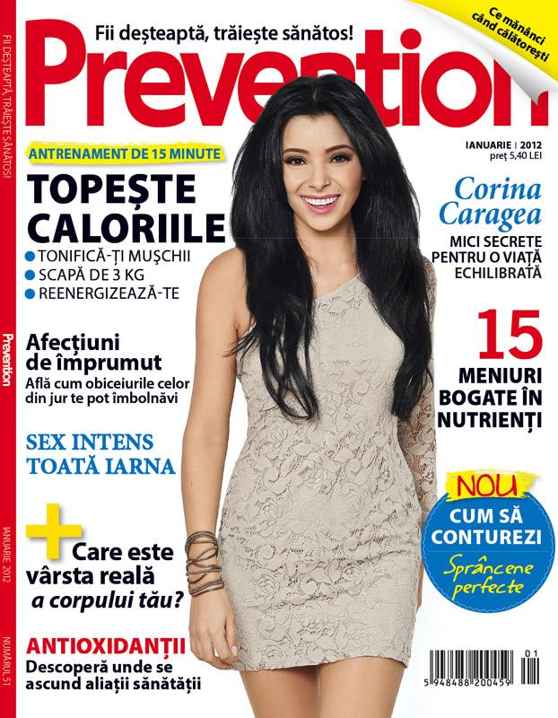 Prevention Romania ~~ Coperta: Corina Caragea ~~ Ianuarie 2012