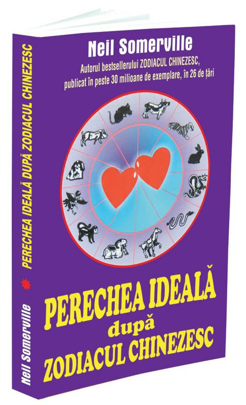 Cartea PERECHEA IDEALA DUPA ZODIACUL CHINEZESC, de Neil Somerville ~~ impreuna cu revista Unica, editia Ianuarie 2012 ~~ Pret: 15 lei