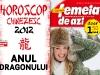 Carticica HOROSCOP CHINEZESC 2012, ANUL DRAGONULUI ~~ impreuna cu Femeia de azi din 13 Ianuarie 2012 ~~ Pret: 1,5 lei
