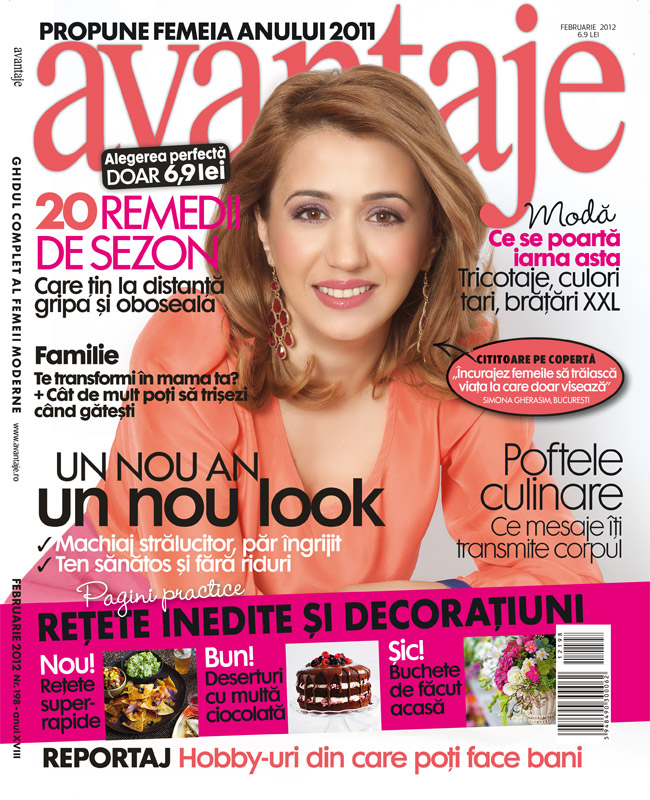 Avantaje Romania ~~ Coperta: Simona Gherasim ~~ Februarie 2012