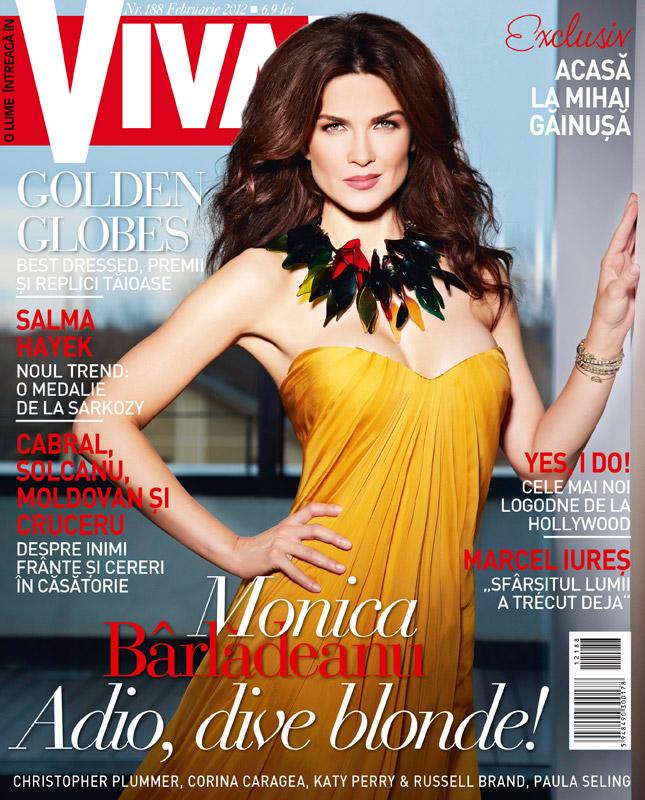 VIVIA! ~~ Coperta: Monica Barladeanu ~~ Februarie 2012