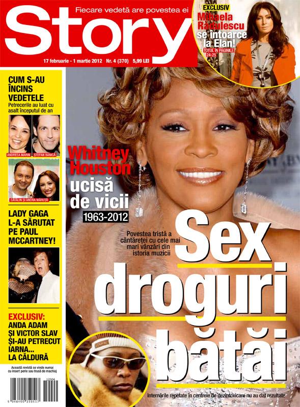 Story Romania ~~ Cover girl: Whitney Houston ~~ 17 Februarie 2012 (nr. 4)