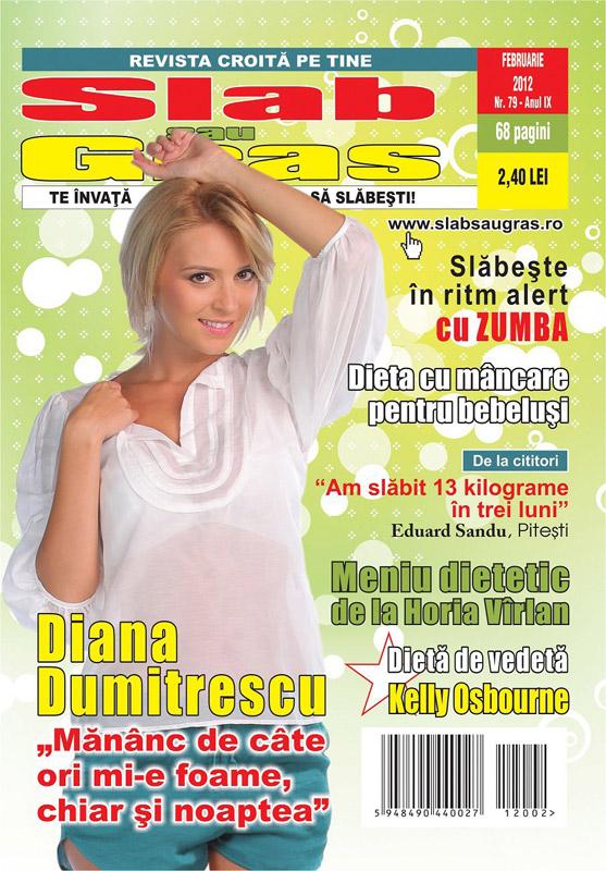 Slab sau gras ~~ Coperta: Diana Dumitrescu ~~ Februarie 2012