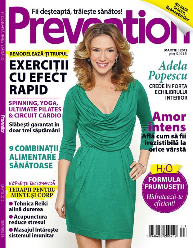 Prevention Romania ~~ Coperta: Adela Popescu ~~ Martie 2012