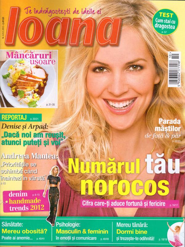Ioana ~~ Numarul tau norocos ~~ 8 Martie 2012 (nr. 6)