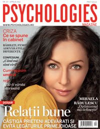Psychologies Romania ~~ Coperta: Mihaela Radulescu ~~ Aprilie 2012