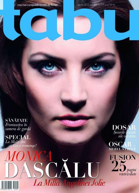 tabu ~~ Coperta: Monica Dascalu ~~ Aprilie 2012