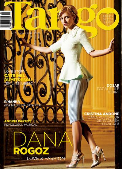Tango ~~ Coperta: Dana Rogoz ~~ Aprilie 2012