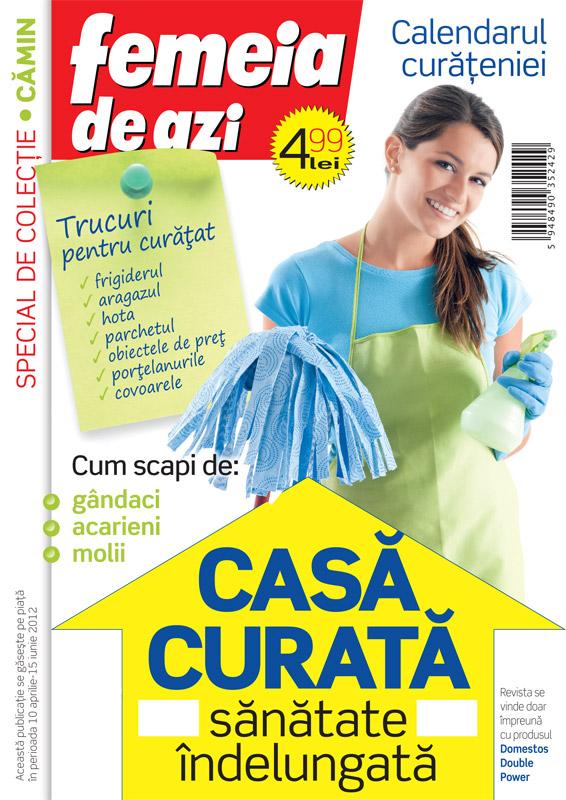 Special Curatenie Femeia de azi ~~ cadou: domestos WC ~~ 10 Apr - 15 Iun 2012 ~~ Pret: 5 lei