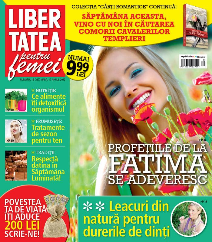 Libertatea pentru femei impreuna cu carte crisa de Amanda Scott  din Colectia Cartile Romantice ~~ 17 Aprilie 2012 (nr. 16) ~~ Pret: 10 lei