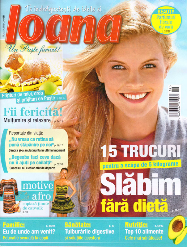 Ioana ~~ Slabim fara dieta ~~ 5 Aprilie 2012 (nr. 8)