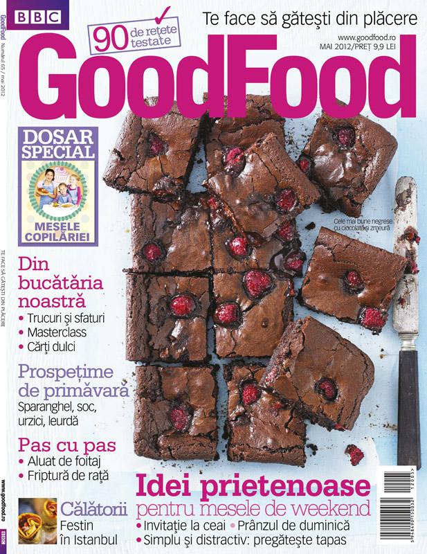 Good Food Romania ~~ Dosar special: Mesele copilariei ~~ Mai 2012