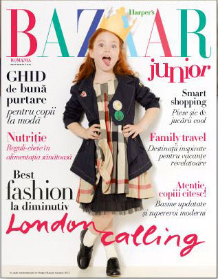 Suplimentul Harper\'s Bazaar Junior ~~ Mai - Iunie 2012