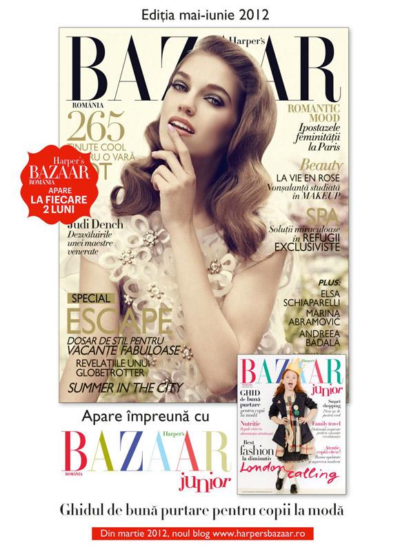 Harper\'s Bazaar Romania ~~ Mai - Iunie 2012