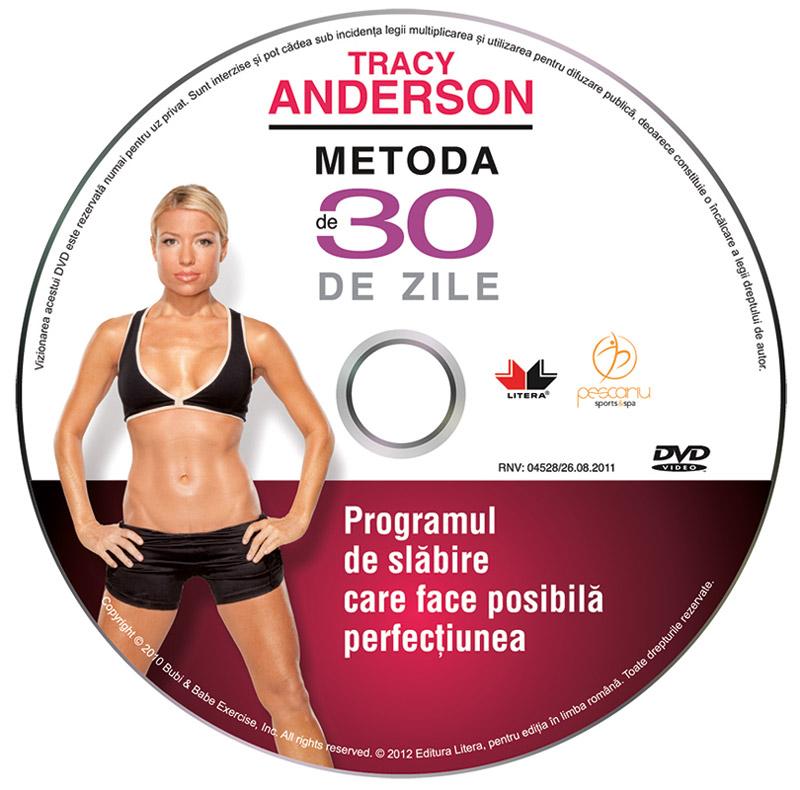 DVD TRACY ANDERSON - METODA DE 30 DE ZILE ~~ impreuna cu revista Unica de Mai 2012 ~~ Pret: 17 lei