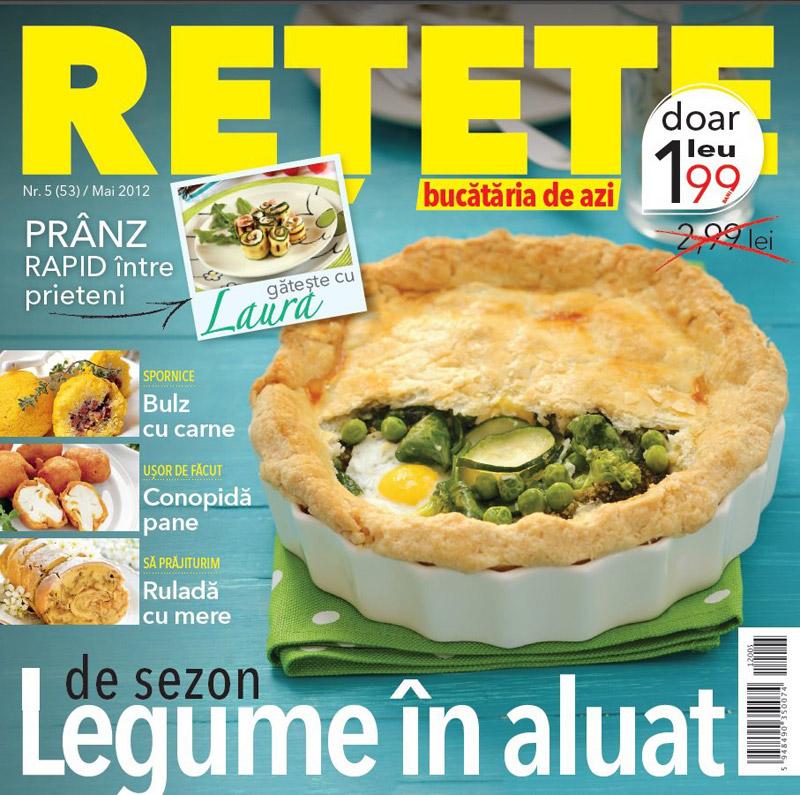 Bucataria de azi RETETE ~~ Legume in aluat ~~ Mai 2012