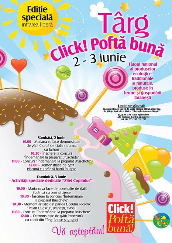 Targul Click! Pofta Buna ~~ Bucuresti, 2-3 Iunie 2012
