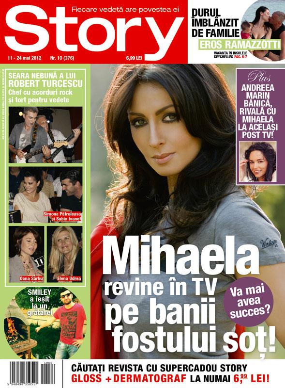 Story ~~ Coperta: Mihaela Radulescu ~~ 11 Mai 2012