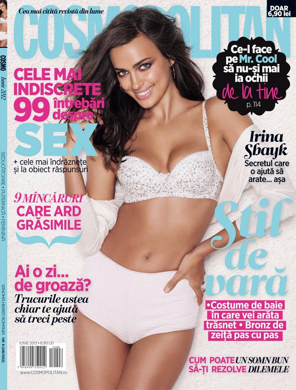 Cosmopolitan Romania ~~ Cover girl: Irina Shayk ~~ Iunie 2012
