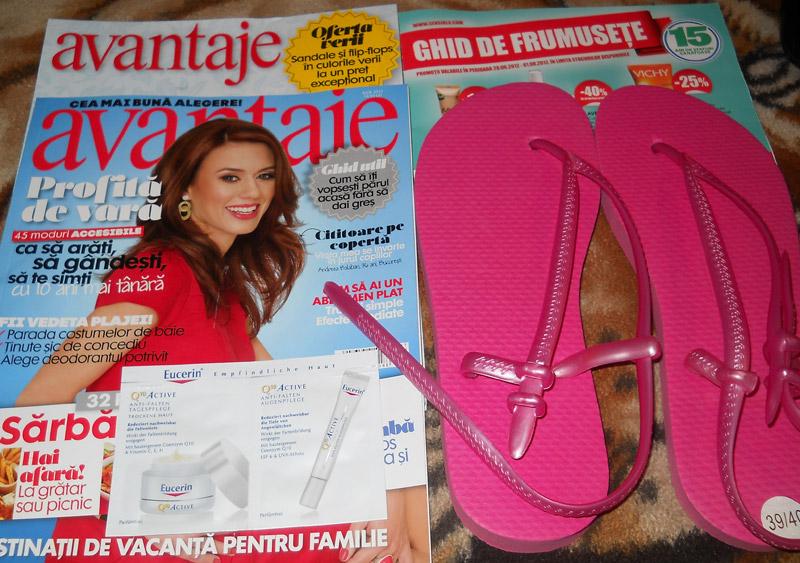Avantaje ~~ Cadou si inserturi ~~ Iulie 2012