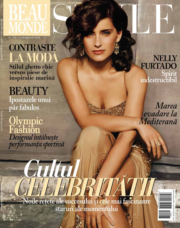 Beau Monde Style ~~ Cover girl: Nelly Furtado ~~ Iulie-August 2012