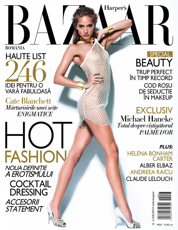 Harper\'s Bazaar Romania ~~ Iulie-August 2012
