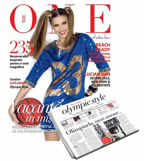 The One Magazine ~~ Suplimentul The ONE OLYMPIC Style ~~ Iulie 2012