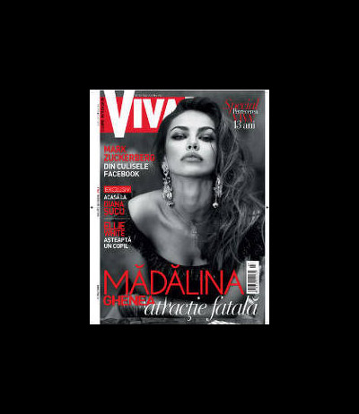 VIVA! ~~ Coperta: Madalina Ghenea ~~ Iulie 2012