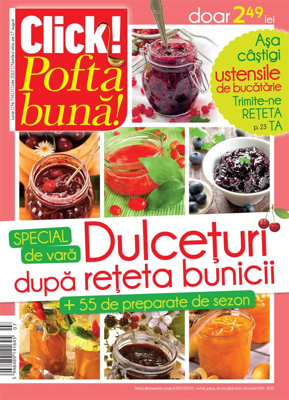 Click! Pofta buna ~~ Special de vara: Dulceturi dupa reteta bunicii ~~ August 2012