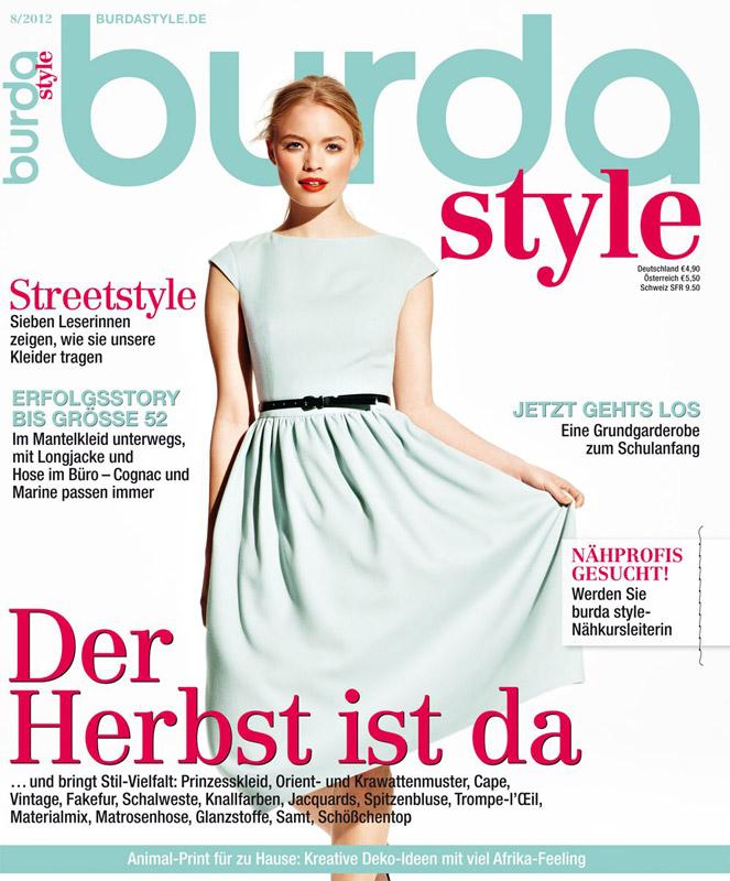 Burda Style ~~ August 2012