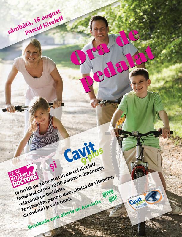Eveniment CSID si Cavit 9 Plus ~~ Ora de pedalat ~~ Bucuresti, 18 August 2012