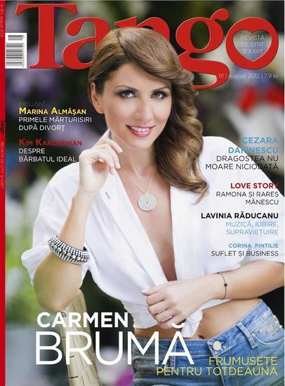 Tango ~~ Coperta: Carmen Bruma ~~ August 2012