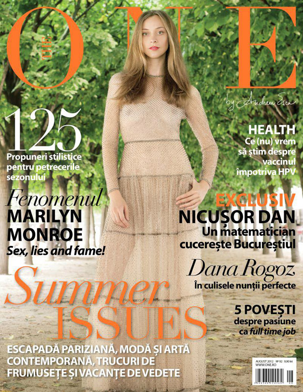 The One ~~ Summer Issues ~~ August 2012