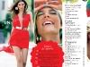 Cuprinsul editiei de August a revistei COSMOPOLITAN Romania ~~ Pagina 1