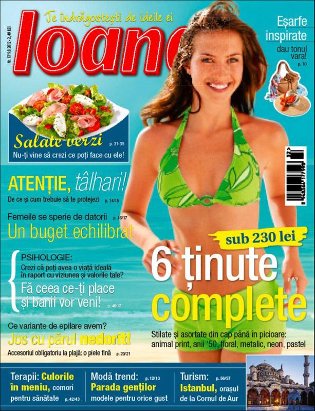 Ioana ~~ Salate verzi ~~ 6 August 2012 (nr. 17)