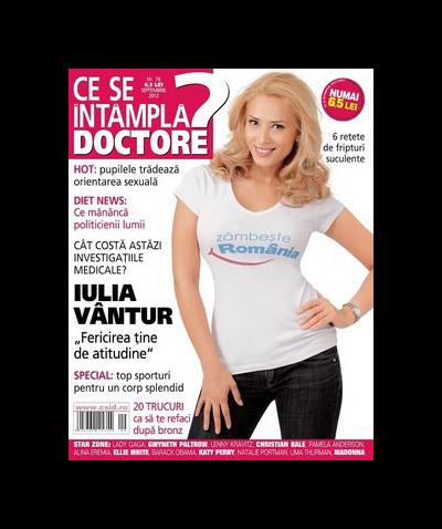 Ce se intampla, Doctore? ~~ Coperta: Iulia Vantur ~~ Septembrie 2012