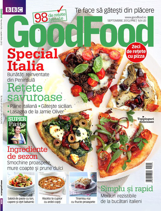 Good Food Romania ~~ Special Italia ~~ Septembrie 2012