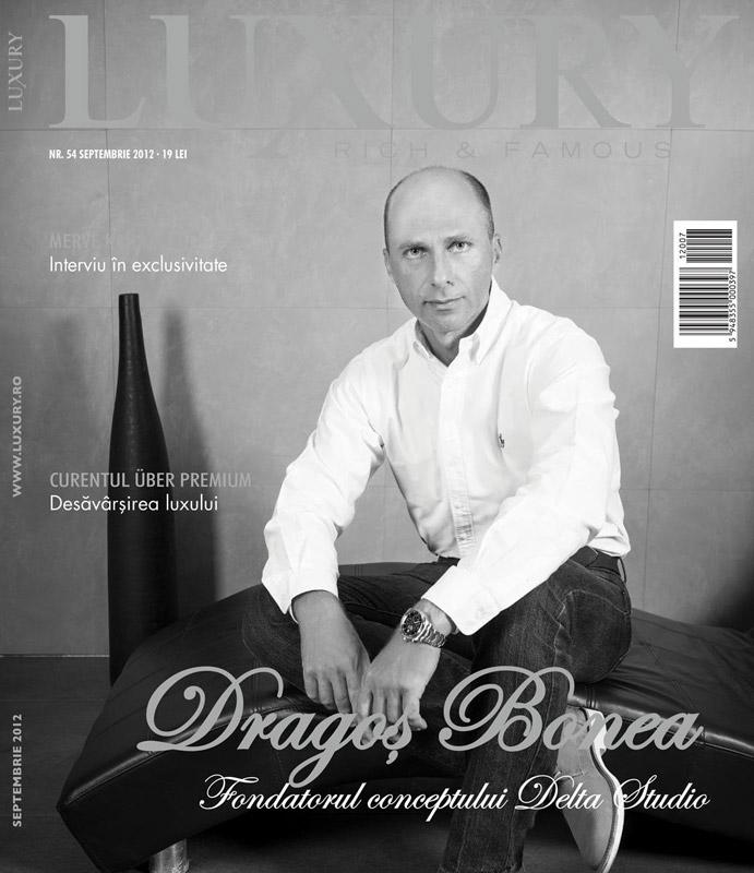 Luxury ~~ Coperta: Dragos Bonea ~~ Septembrie 2012