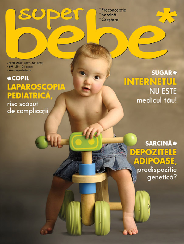 Revista SUPERBEBE ~~ Septembrie 2012 ~~ Pret: 6,90 lei