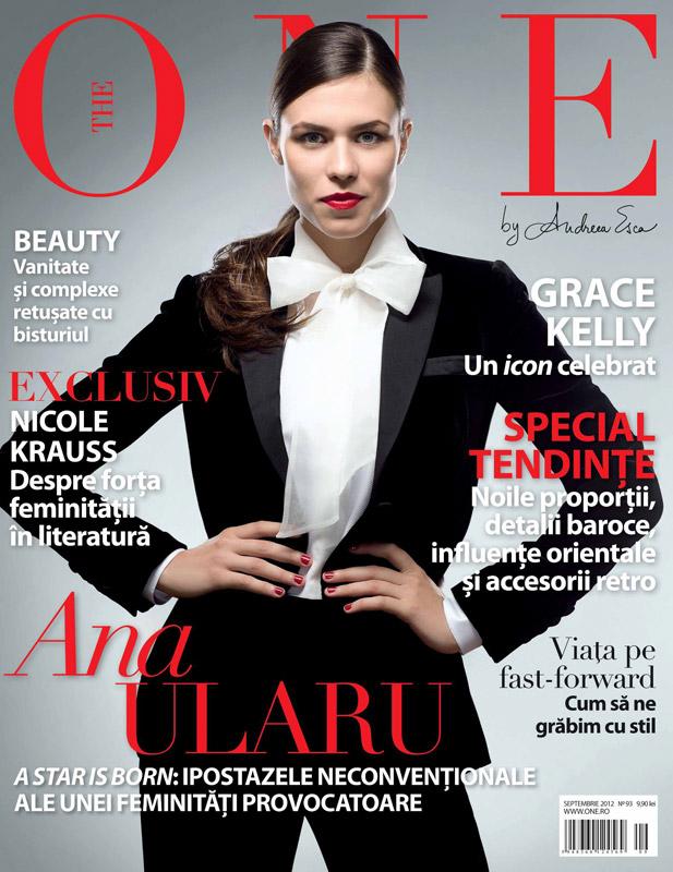 The One ~~ Coperta: Ana Ularu ~~ Septembrie 2012