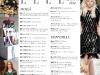 Cuprinsul revistei ELLE Romania, editia Septembrie 2012