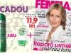 Promo FEMEIA. ~~ Cadou: Deodorant Garnier Mineral ~~ Septembrie 2012 ~~ Pret revista+cadou: 11,90 lei
