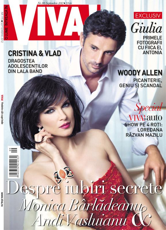 VIVA! ~~ Coperta: Monica Barladeanu si Andi Vasluianu ~~ Septembrie 2012