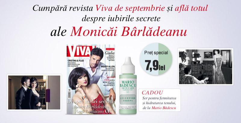 Promo VIVA! si cadoul Mario Badescu ~~ Septembrie 2012