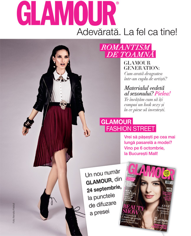 Promo Glamour, editia Octombrie 2012