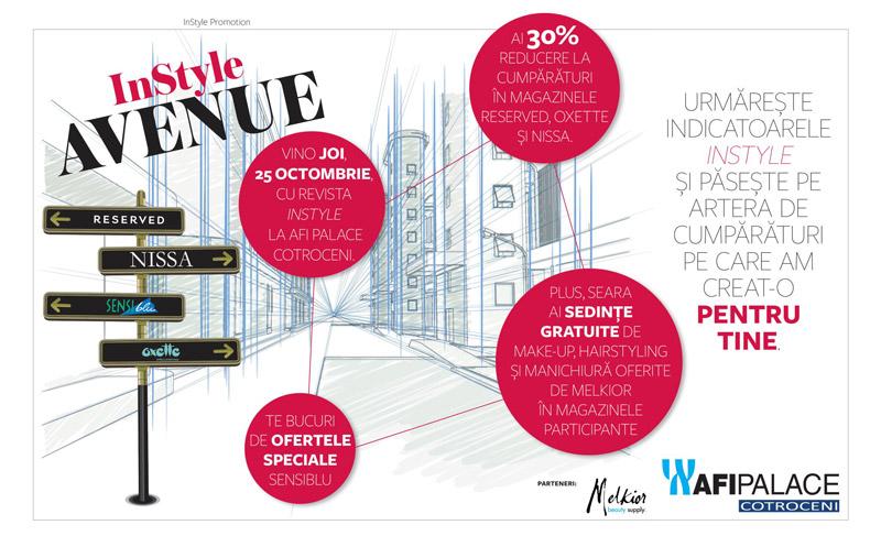Eveniment InStyle Avenue ~~ Bucuresti, 25 Octombrie 2012