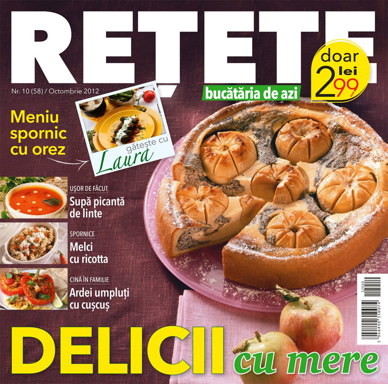 Bucataria de azi RETETE ~~ Delicii cu mere ~~ Octombrie 2012