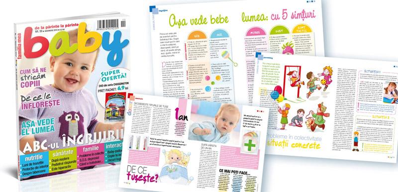Revista BABY ~~ ABC-ul ingrijirii ~~ Noiembrie 2012