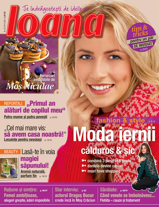 Revista Ioana ~~ Moda iernii ~~ 29 Noiembrie 2012 (nr. 25)