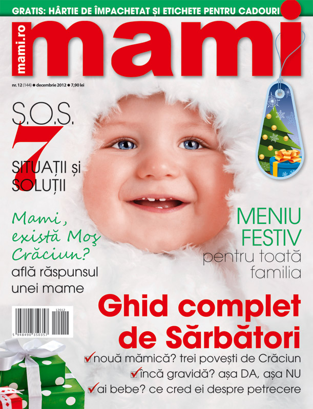 Revista MAMI ~~ Ghid complet de sarbatori ~~ Decembrie 2012